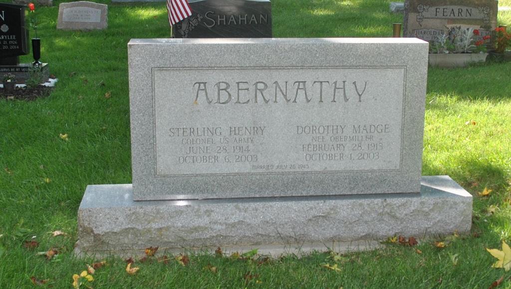Abernathy Family Monument, Abernathy Family Monument